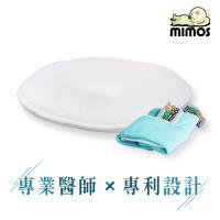 MIMOS 3D自然頭型嬰兒枕 M 【枕頭+湖綠色枕套】( 5-18個月適用 )