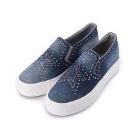 DOOK 牛仔星星套式休閒鞋 深藍 GF7366 女鞋 鞋全家福