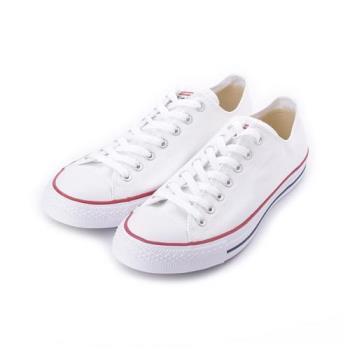 CONVERSE CHUCK TAYLOR ALL STAR 低筒帆布鞋 全白 M7652C 男鞋 鞋全家福