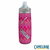 CAMELBAK PODIUM CHILL 620ML保冷噴射水瓶(火鶴紅)