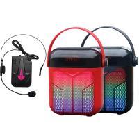 大聲公巧福型無線式多功能手提行動音箱/喇叭 (耳掛麥克風組)