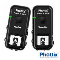 Phottix Strato II 2.4GHz 無線 閃燈 觸發器 含接收器 Canon Nikon (公司貨)一組兩入