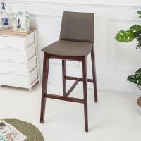 Bernice 森瓦實木吧台椅 吧檯椅 高腳椅 高 二入組合