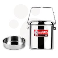 ZEBRA斑馬 新型SUS304不鏽鋼提鍋16cm 3.0L