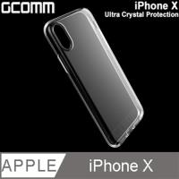GCOMM iPhone X 清透柔軔保護套 清透明 Ultra Crystal Protection