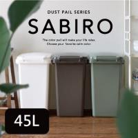 日本 eco container style 連結式 環保垃圾桶 SABIRO系列 45L -共三色