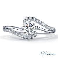 DINA JEWELRY 蒂娜珠寶 GIA 0.52克拉 D/SI2 鑽戒 求婚戒指(預購)