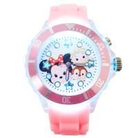 【Disney迪士尼】 閃燈手錶 -  tsum tsum 米妮、艾莎 、蒂蒂