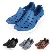LOTTO ROSSA 男女晴雨穿搭休閒鞋-洞洞鞋 游泳 海邊 排水 水陸鞋