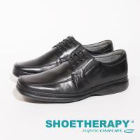 SAPATOTERAPIA 巴西超輕量直套皮鞋男鞋-黑