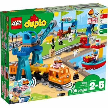 LEGO樂高積木 - Duplo 得寶系列 - 貨運列車 10875
