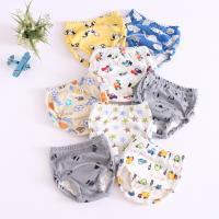 【6件入】學習褲 6層紗嬰兒尿布褲 隔尿褲