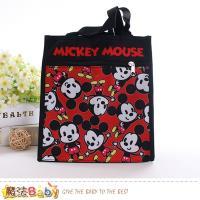 魔法Baby 便當袋 迪士尼米奇授權正版提袋~f0308