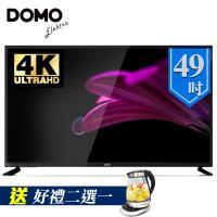 DOMO 49型4KUHD多媒體HDMI數位液晶顯示器+數位視訊盒(DOM-49A04K)