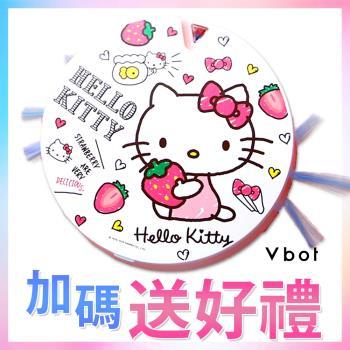 【限時買就送擦地組】Vbot x Hello Kitty i6+草莓牛奶蛋糕 掃地機器人 二代加強掃吸擦智慧鋰電池