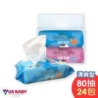 優生 清爽型濕紙巾/柔濕巾 (80抽24包)