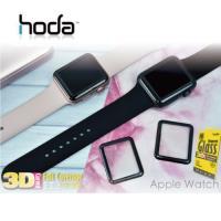 HODA Apple Watch 38mm / 42mm 3D全曲面滿版 9H鋼化玻璃保護貼