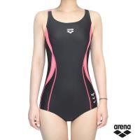 arena 女用時尚三角連身運動泳衣 TMS8137W