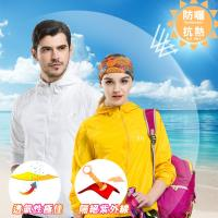 KISSDIAMOND 防風防曬防潑水超輕抗UV連帽外套/9色可選(S-4XL)