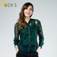 MONS名媛顯瘦蕾絲造型外套