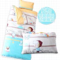 R.Q.POLO 純棉兒童睡袋-城市女孩  冬夏兩用鋪棉書包睡袋 4.5X5尺
