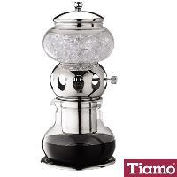 Tiamo 日式小冰滴600ml咖啡壺銀色-5人份(HG2606)