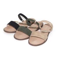 【88%】涼鞋-一字涼拖鞋 舒適兩穿涼鞋 簡約百搭氣質水鑽 編織壓紋鞋底