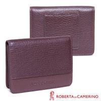 【ROBERTA 諾貝達】皮帶腰包-附拉鍊內袋-隨身包/零錢/卡夾包(義大利皮革)