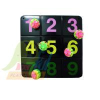 【Playful Toys 頑玩具】吸盤九宮格遊戲組 90C08 台灣製 吸盤 黑色 白色 遊戲 趣味 吸盤球 數字 兒童 大人 玩具