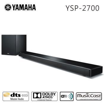 YAMAHA山葉 7.1聲道無線藍牙家庭劇院聲霸(YSP-2700)