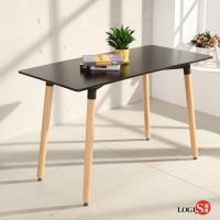 LOGIS邏爵 自然簡約北歐寬60cm餐桌 長桌 工作桌 書桌 休閒桌 T12060B