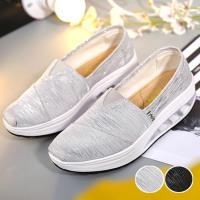 【Alice 】型- 進口布面流金沙線條健走鞋