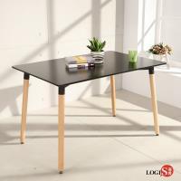 LOGIS邏爵 自然簡約北歐寬80cm餐桌 長桌 工作桌 書桌 休閒桌 T12080B