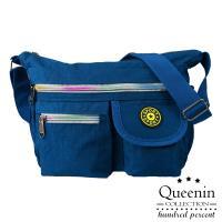 DF Queenin - 尼龍風潮不敗經典防潑水側背包-共4色