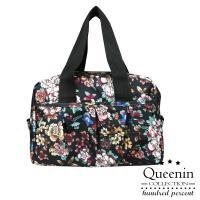 DF Queenin - 日系大人氣輕盈尼龍款手提斜背包-共4色