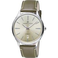 Hamilton 漢米爾頓紐約星嵐系列極簡時尚機械腕錶   H38525811