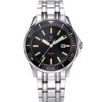 Olympia Star 奧林比亞之星-神盾系列極限氚氣石英腕錶-黑 98024TGS