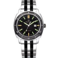 Olympia Star 奧林比亞之星-神盾系列氚氣石英腕錶-雙色 98021TGSB