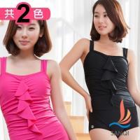 SANQI三奇 海派寶貝 連身式泳裝 泳衣(共兩色M~XL) SQ13106