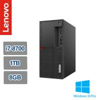 Lenovo 聯想 ThinkCentre M920t i7-8700六核高效能Win10專業版商用桌機