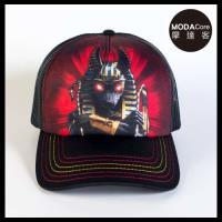 摩達客(預購)美國進口The Mountain 胡狼戰士 藝術棒球帽網帽/5-Panel新五分割帽