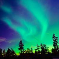 幸福極光 阿拉斯加.極光木屋 半自由行6日