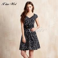 CHENG DA 春夏專櫃精品女裝時尚短袖洋裝 NO.687513