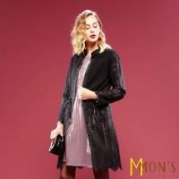MONS長版蕾絲兩穿造型長外套
