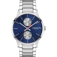 COACH Metropolitan 英國紳士時尚腕錶(藍/42mm) 14602098