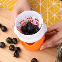 PUSH!廚房用品新款榨葡萄西瓜蘋果柳丁汁器家用便攜手動榨汁機D138