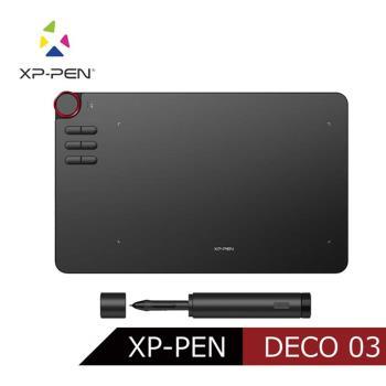 日本品牌XP-PEN Deco 03 10X6吋頂級專業超薄無線繪圖板