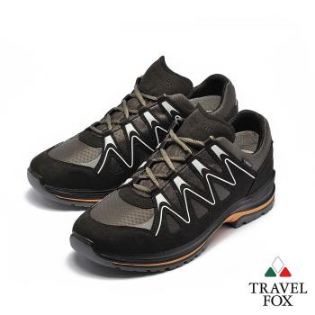 TRAVEL FOX(男) TRAVEL FOX(男) 山高氣高 歐洲進口耐冷熱防滑戶外登山鞋 - 能量黑