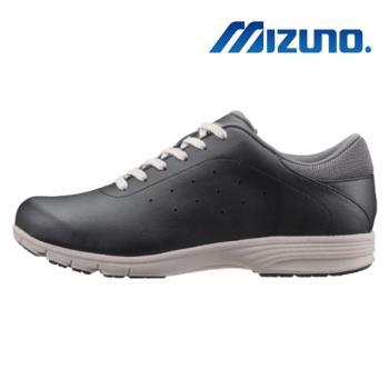 【MIZUNO 美津濃】LS803 寬楦 健走鞋 休閒鞋 女 黑(B1GF183809)