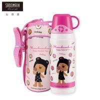 買一送一   仙德曼 SADOMAIN  法國浣熊寶貝真空保溫瓶-粉色